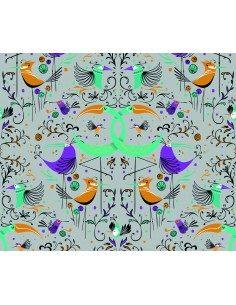 LA TAPICERA GROOVY BIRDS...